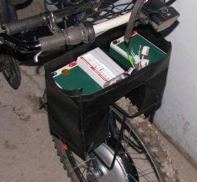 Мини-рюкзак для аккумуляторов